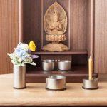 小さいお仏壇の飾り方 マンション用スペースのいらないお参り方法