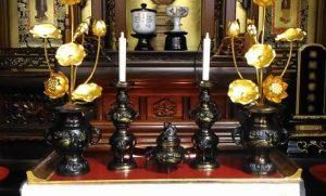浄土宗仏具の配置