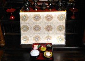 浄土宗のお膳の配置