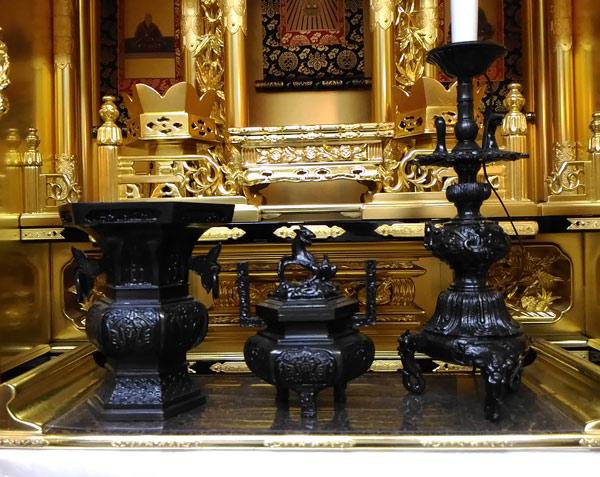東本願寺の仏具