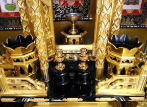 高田派の仏具華瓶
