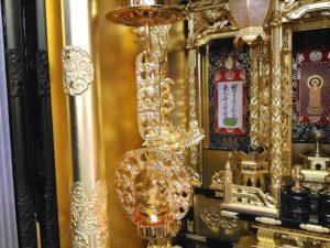 高田派の桐輪灯