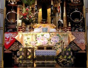 お寺のお正月飾り