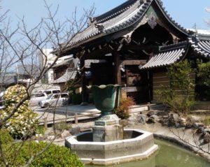 青銅製の噴水