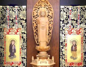 浄土宗の仏壇の掛け軸