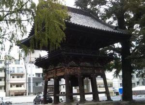 名古屋別院の鐘楼