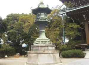 東別院灯篭